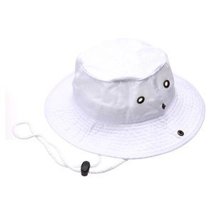 Safari Bucket Hat (White)